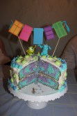 Marble cake inside