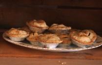 Tiny homemade apple pies