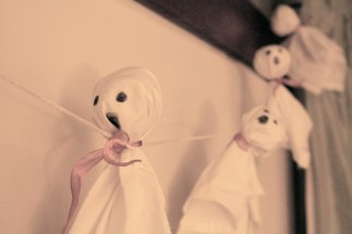 Baby ghost banner