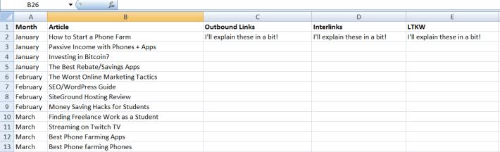 blogging-content-map