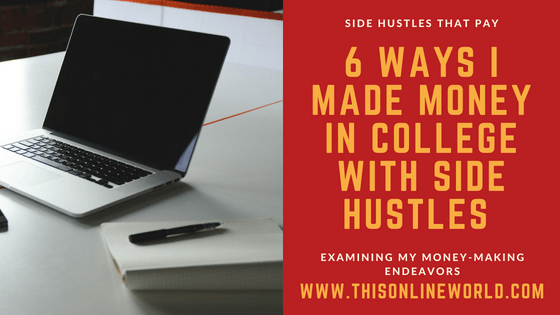 college side hustles