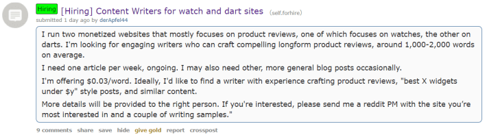reddit-job-hunting