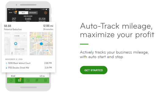 hurdlr review business expenses mileage tracking for side hustlers