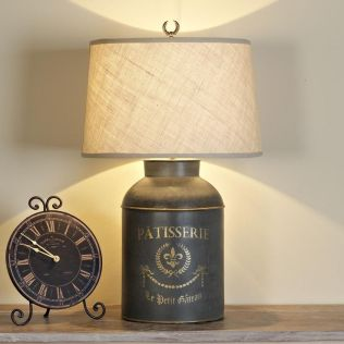 Small lamp for kitchen counter