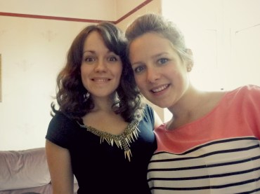 Its lovely to be back with my big sister, Abi again!