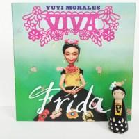 viva frida + frida kahlo peg doll