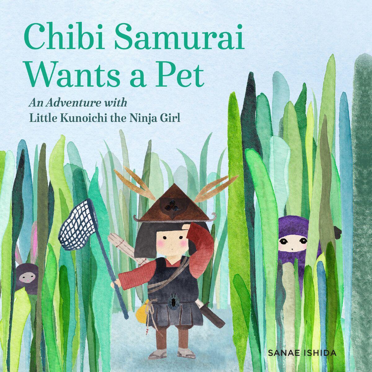 cover reveal! Chibi Samurai Wants a Pet by Sanae Ishida