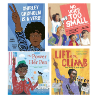 four 2020 picture books on raising your voice + giveaway for educators