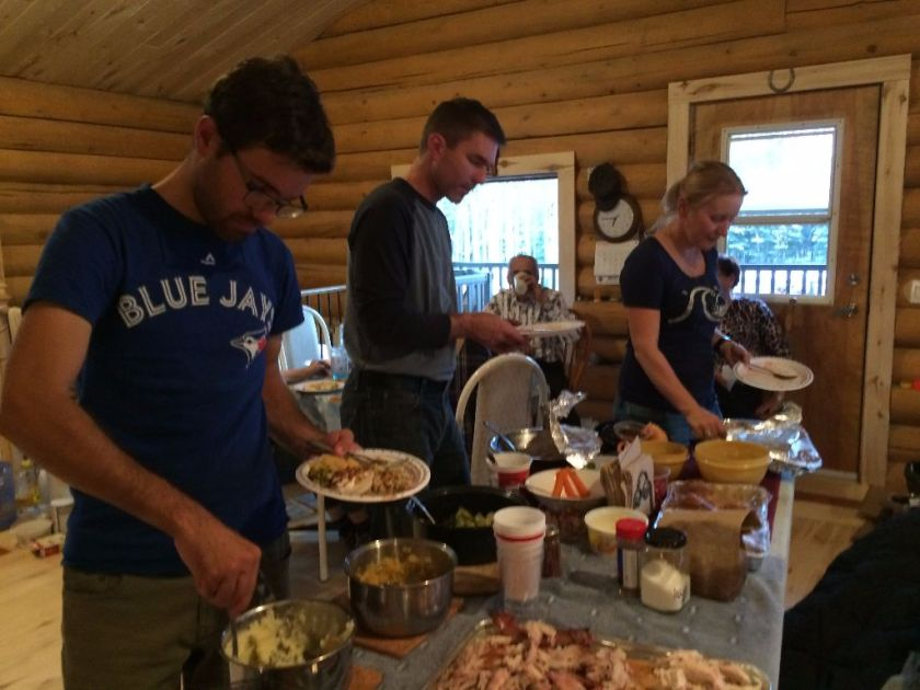 Thanksgiving in Worsley