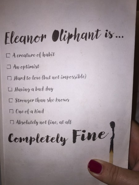 Book Review  Eleanor Oliphant is Completely Fine by Gail Honeyman     Eleanor Oliphant