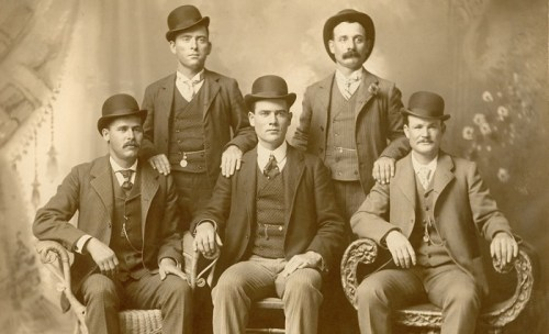The Wild Bunch, led by Butch Cassidy