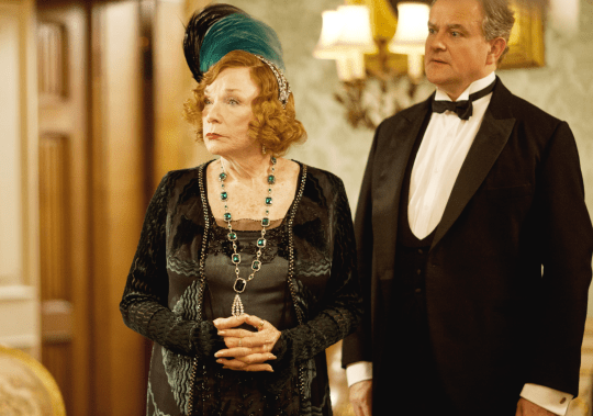 Shirley MacLaine and Hugh Bonneville