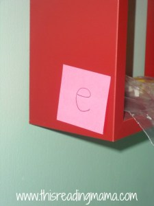 hide post it notes around house