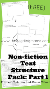 Non-Fiction Text Features and Text Structure