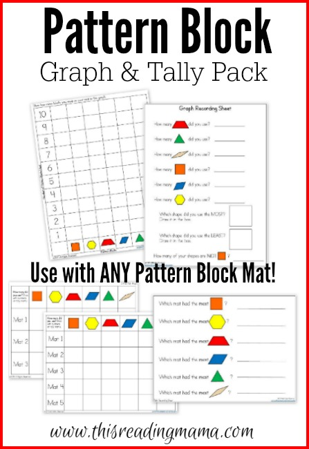 Thanksgiving Mats For Pattern Blocks