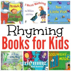 Rhyming Books for Kids