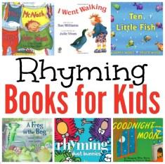 Rhyming Books for Kids