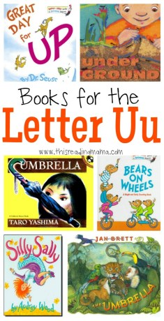 Books for the Letter U - This Reading Mama