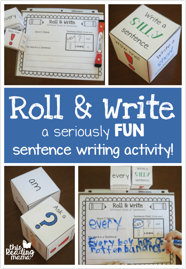 Reading writing and spelling games