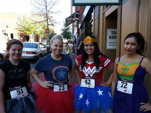 wonderwoman running costume