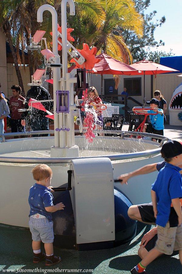 Play Area in Courtyard Birch Aquarium
