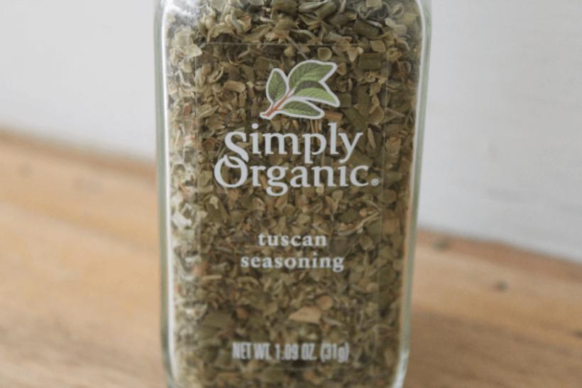 Simply Organic Tuscan Seasoning