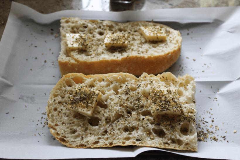 Tuscan Garlic Bread