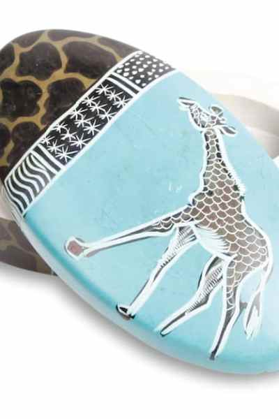 Handcrafted Gifts - Soapstone Box