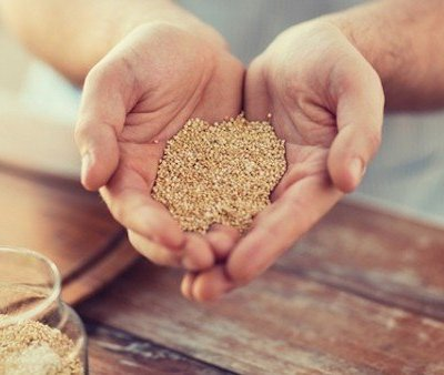Quinoa is a great healthy alternative to other starches!