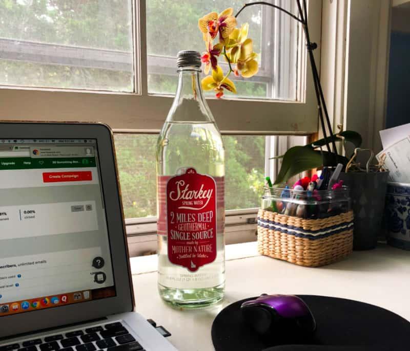 Starkey Water on the Desk