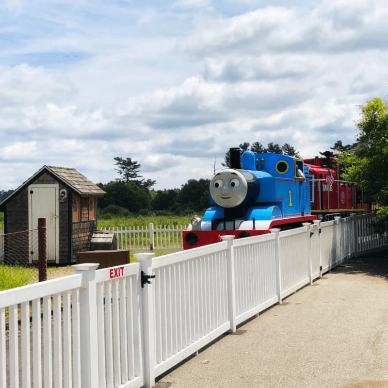 Thomas the Tank Engine Edaville Family Theme Park