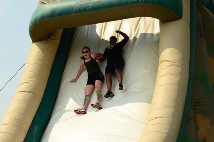 Steep Slide