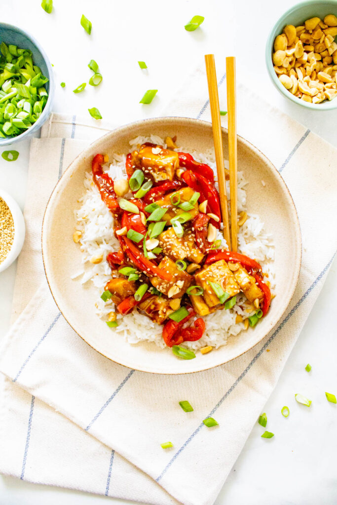 Find tripadvisor traveler reviews of sweet home vegetarian restaurants and search by price, location … Vegan Kung Pao Tofu Rice Bowls This Savory Vegan