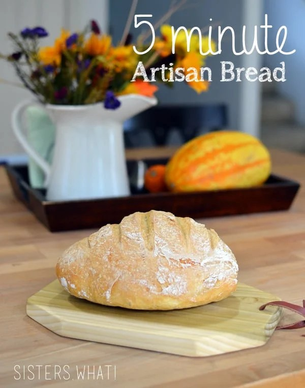 Have your favorite Artisan Bread at home with this quick and easy recipe!