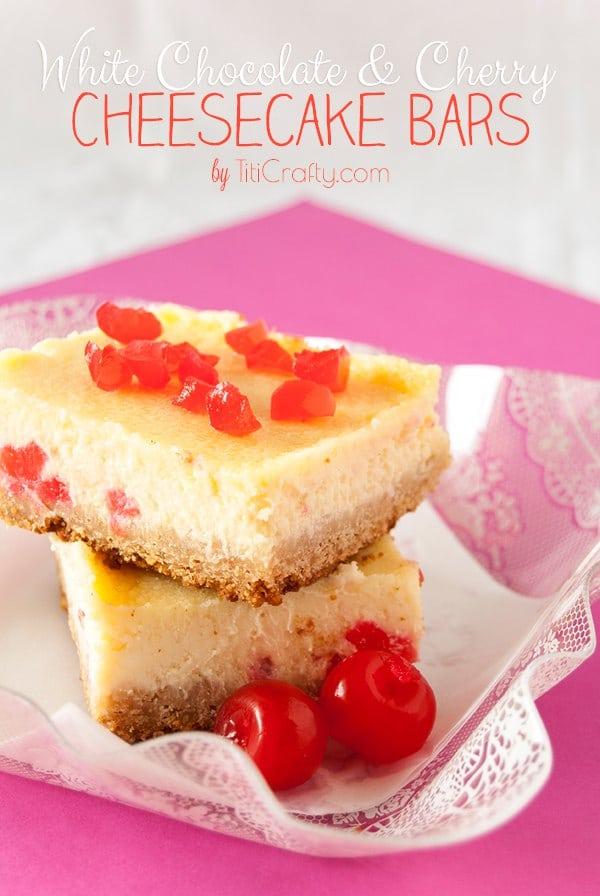 White-Chocolate-Cherry-Cheesecake-Bars-Recipe