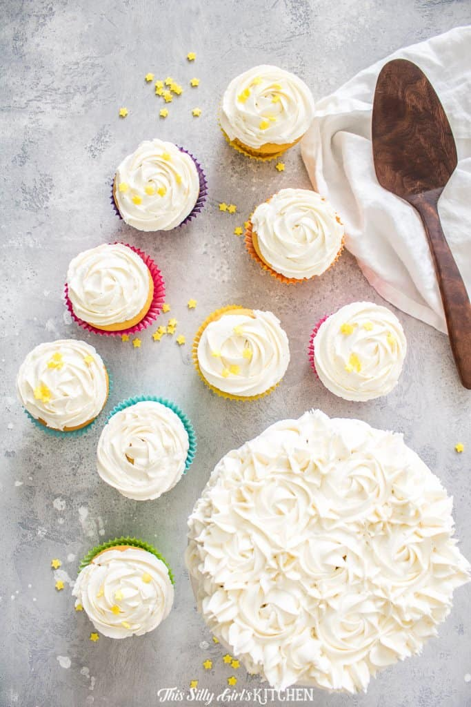 Fluffy Buttercream Frosting