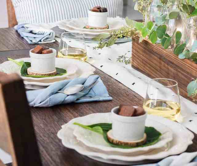 Modern Farmhouse Tablescape A Charming And Inviting Way To Decorate For Any Party From