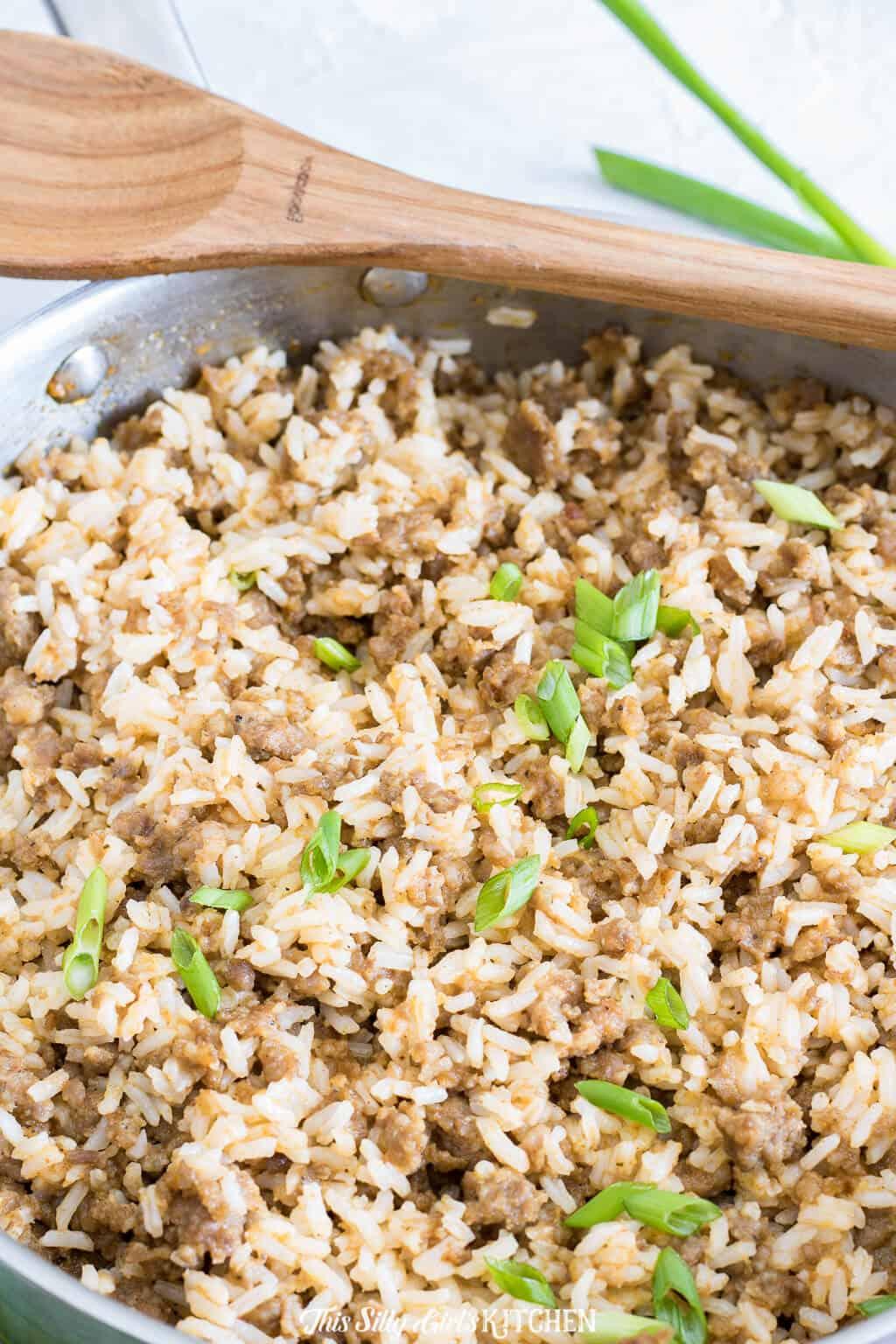 Sausage Dirty Rice