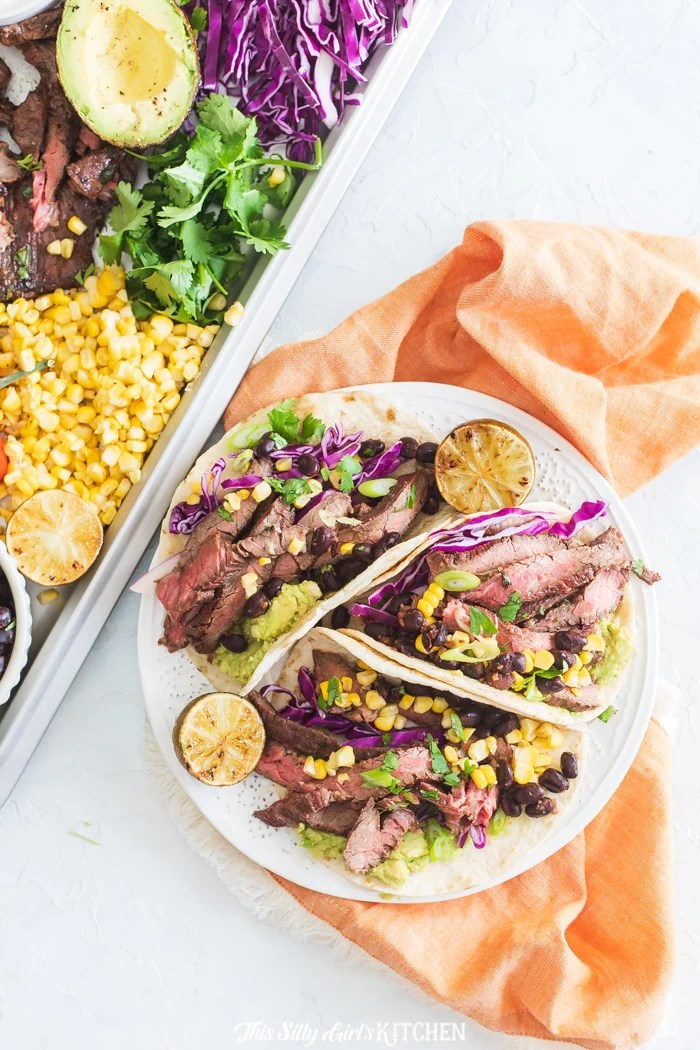 The whole family will enjoy the delicious, sweet and savory taste of steak tacos that use this extremely addictive carne asada marinade and are grilled to perfection on a charcoal grill!