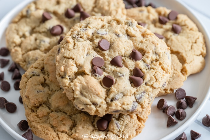 horizontal cookies on a plate