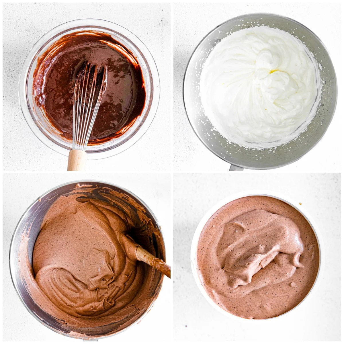 Step by step photos on how to make a Chocolate Ice Cream Recipe