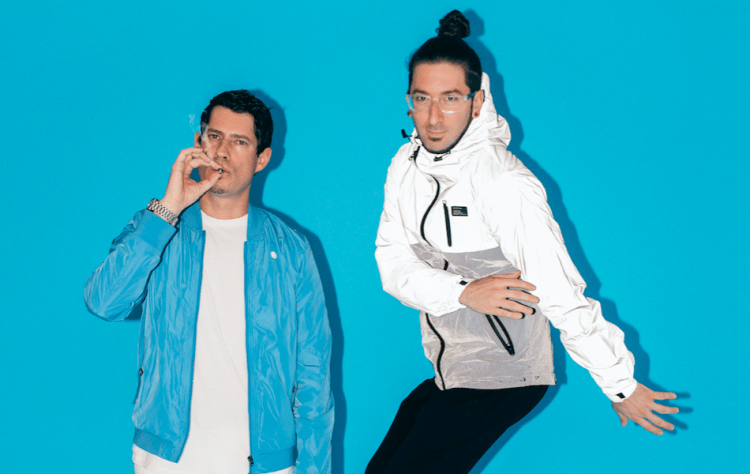 Big Gigantic blue press shot