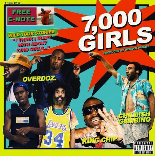 """Childish Gambino & King Chip Join OverDoz. On New Song """"7"""