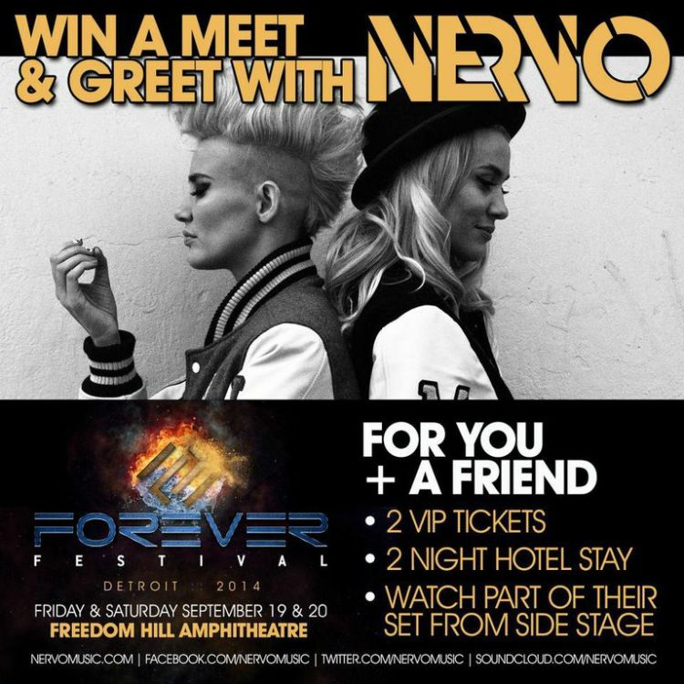 [CONTEST] Meet The Phenomenal Nervo + Win VIP Weekend At Forever Festival