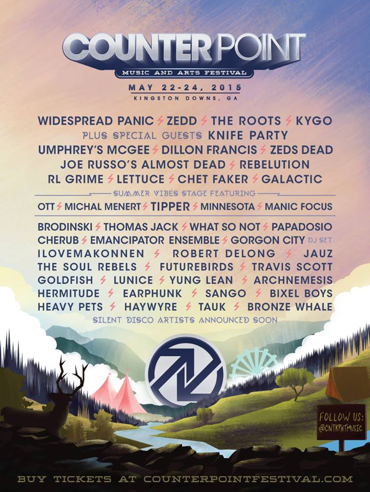 CounterPoint Music Festival Announces Biggest Lineup Ever For 2015 Ft. Zedd