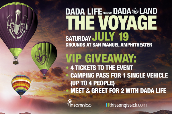 Dada Life Is Throwing Dada Land Festival With Madeon