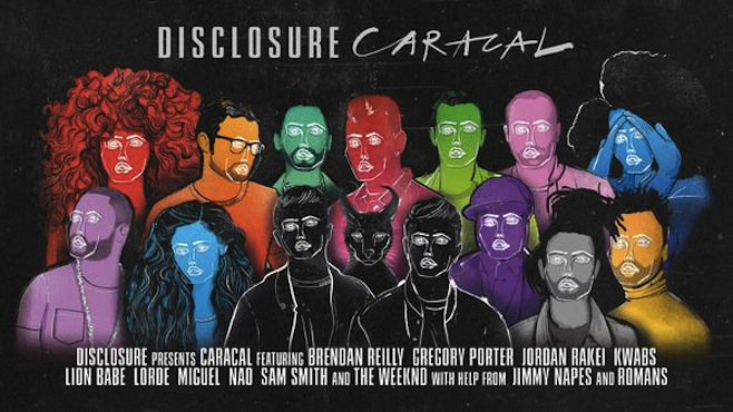 "Disclosure Release Jaw Dropping ""Caracal"" Album Tracklist Featuring The Weeknd"