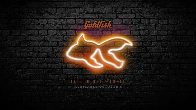 Goldfish Late Night People Art