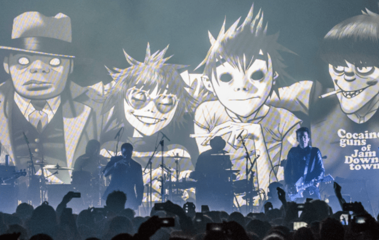 Gorillaz Announce Tour Red Rocks