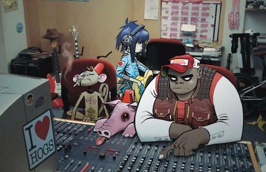 Gorillaz Share First Glimpse Of 5th Album Studio Footage?